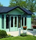 Lugarde Daisy Log Cabin 5.5m x 8.5m