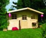 Solid Geneve Log Cabin (3.88m x 3.28m)