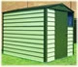 Trimetal Titan 680 Metal shed 6' x 8'