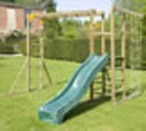 Action Monkey Bars with Slide