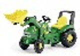 John Deere X-Trac Pedal Tractor with Frontloader