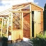 Malvern Retreat Greenhouse Potting Shed 10' x 6'9