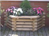 Flatback Window Seat Garden Planter