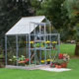 Popular 46 Aluminium Greenhouse 4'2 x 6'3