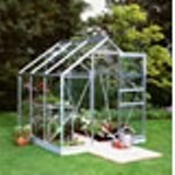 Popular 66 Aluminium Greenhouse 6'3 x 6'3