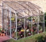 Silverline Aluminium 86 Lean To Greenhouse 8'5 x 6'4