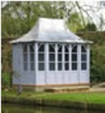Chelsea Lead Roof Summerhouse 3.8x2.4m