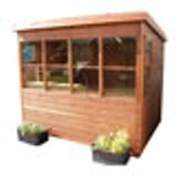 Sunflower Pent Potting Shed 10' x 8'