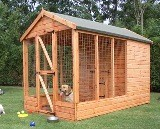 Deluxe Apex Kennel and Run 10'x6'