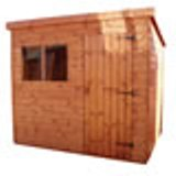 Traditional Superior Pent Shed 8'x6'