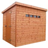 Traditional Security Shed Pent 4'x4'