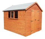 Traditional Heavy Duty Apex Shed 24'x10'
