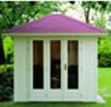 Lugarde Prima Jessica Summerhouse 2.4x2.4m - including Floor