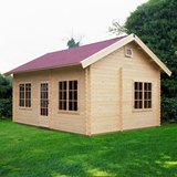 Lugarde Leafield 44mm Log Cabin 4mx5.5m
