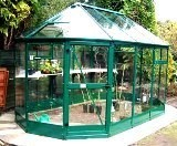 Super Alpha Ten Sided Aluminium Greenhouse 8' x 13'