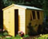 Harris Value Apex Wooden Shed 8' x 6'