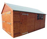 Traditional Heavy Duty Timber Garage 20'x10'