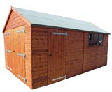 Traditional Heavy Duty Timber Garage 14'x10'
