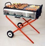 Zenith 4 Gas Professional Barbecue