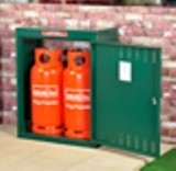Asgard Asgas 38 Two Gas Cylinder Metal Storage Unit