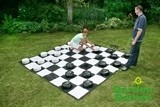 Giant Outdoor Draughts Set