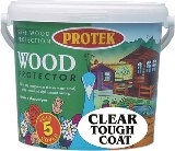 Protek Clear Tough Coat Wood Protector 5L