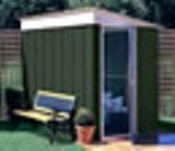 Canberra Lean To Metal Shed 6x4