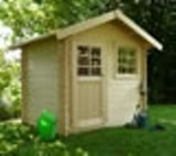 Solid Saran Log Cabin (2.98mx1.98m)