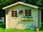 Solid Sologne Log Cabin (2.98mx2.98m)