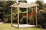 Single Deck with Pergola Kit 2.4 x 2.4