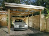Modern Flat Roof Car Port 3.60x6.43m