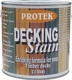 Decking Wood Stain 2.5 Litres