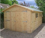 Bespoke Heavy Duty 22mm clad Workshop Garage 3.04x4.57m