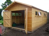 Bespoke Wooden Workshop Garage 3.35x4.88m