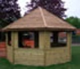 Gazebo Style Out Door Class Room 4.5m.dia