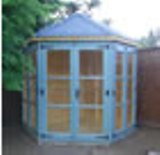Corner Summerhouse Made to Measure