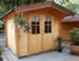 Goteborg 28mm Log Cabin 2.5x2m Double Door