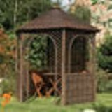 Rowlinson Willow Gazebo 2.15 x 2.48m