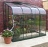 Forest Green Silverline 86 Lean To Greenhouse 8'5 x 6'4