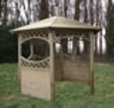 Curved Lattice Gazebo 2.9m