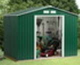 Emerald Rosedale Metal Shed 8x8