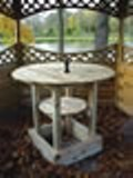 Circular Garden Bar Table