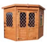 Leaded Corner Summerhouse 7'x7'