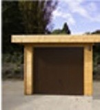 Modern Log Garage 28mm 3x5