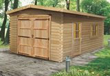 Log Cabin Garage 4x6m WG