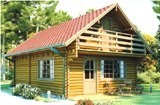 Lincoln Log Cabin 6x9m