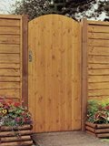 Side Entry Arch Gate 0.9x1.85m