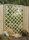 Garden Mirror Lattice Screen 1.2x1.8m