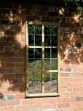 Garden Mirror Tudor Window 0.6x1.2m