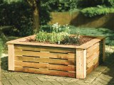 Rowlinson Raised Planter 41x128x128cm